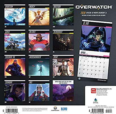 Browntrout Publishers, I: Overwatch 2020 Square Wall Calenda ...