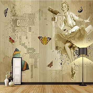 Vinilo decorativo Personalice el papel tapiz del dormitorio Papel ...