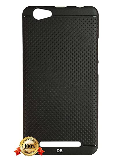 outlet store 74a94 93e0d Dragon Shield' LYF Wind 6 Black Dotted Back Cover: Amazon.in ...