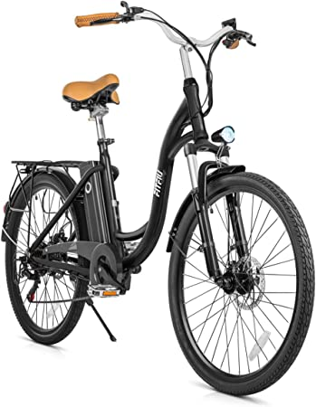 Fitfiu - Vintage Bicicleta eléctrica de paseo de 26