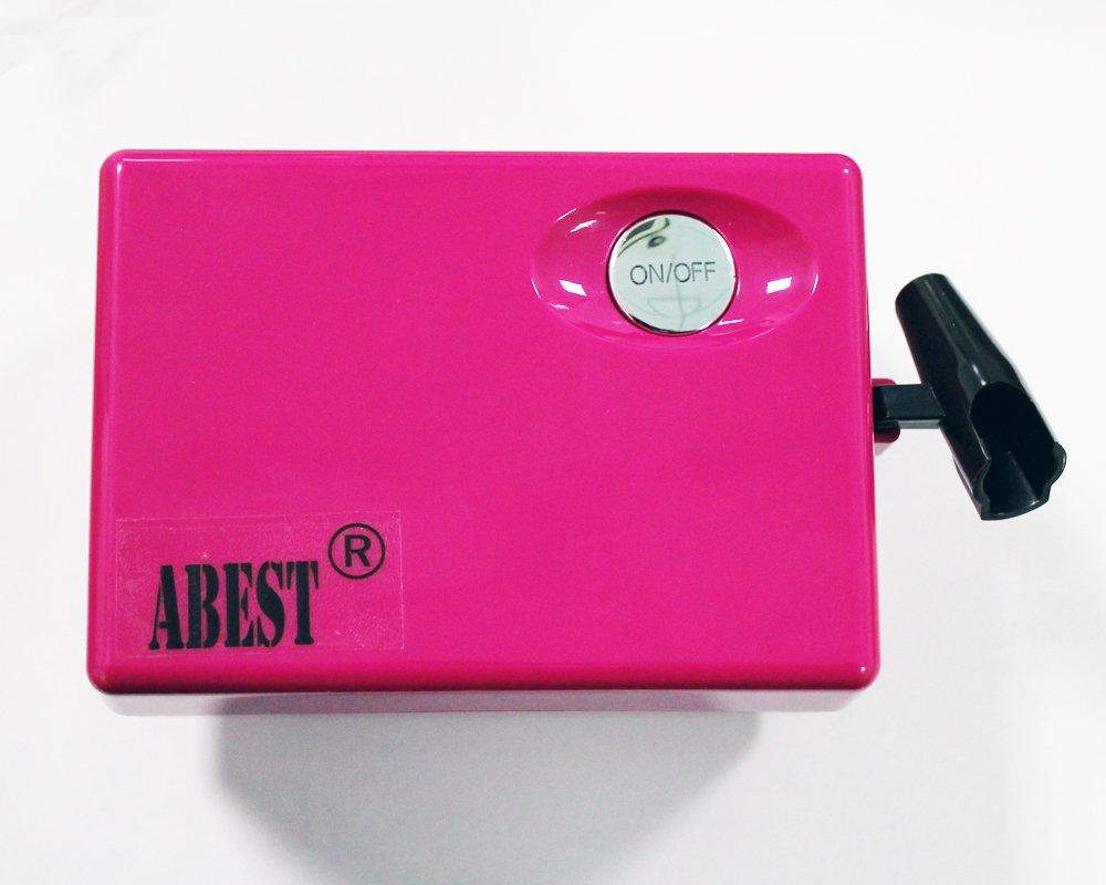 Abest Compresseur A/érographe Kit de maquillage et donglerie a/érographe kit /à action unique