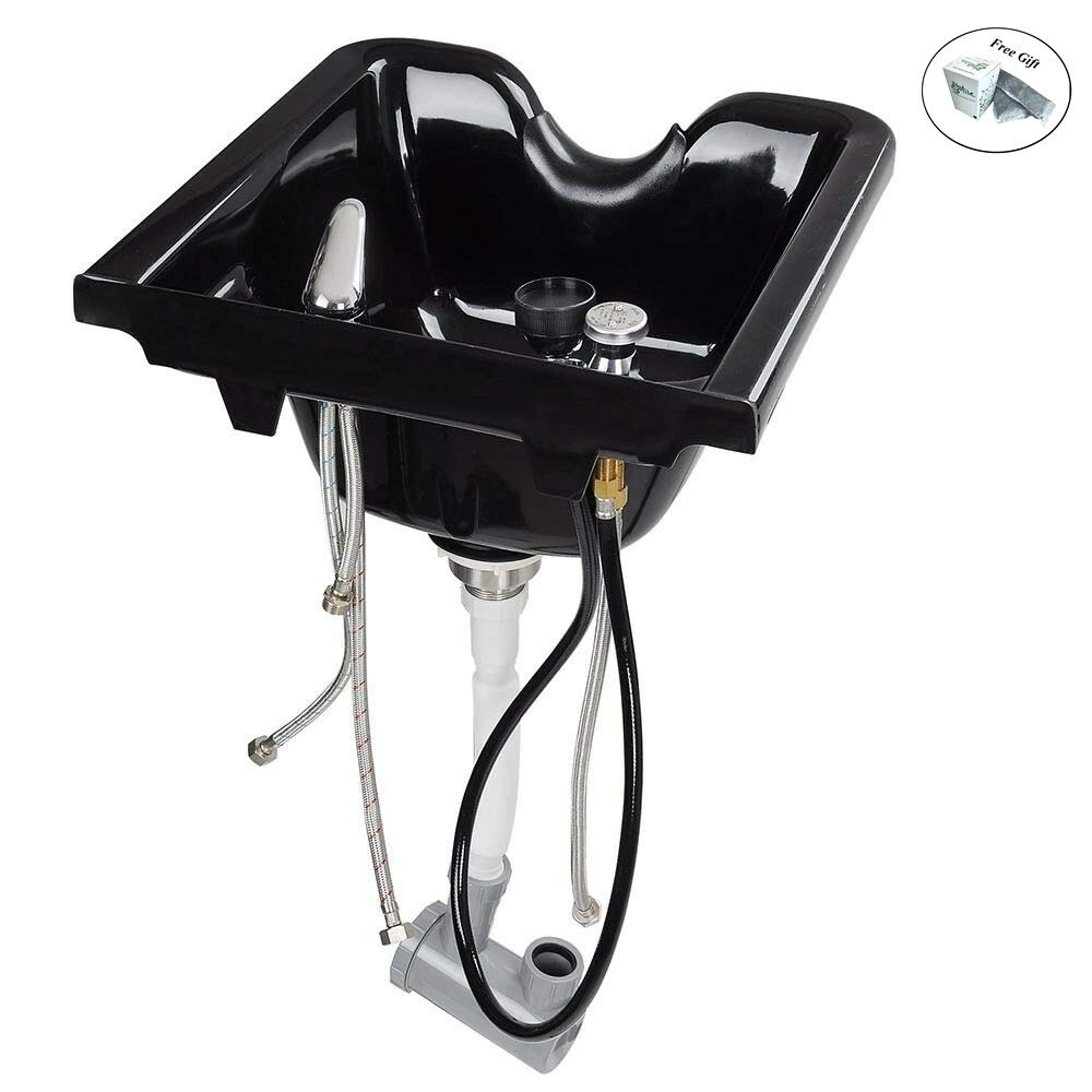 Shampoo Bowl Beauty Salon Sink Bowl Barber Shop Mounting Ability Only by eight24hours + SPECIAL GIFT