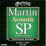 Martin MSP4000 SP Phosphor Bronze Acoustic Guitar Strings