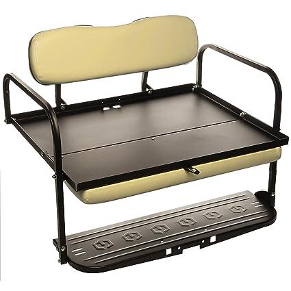 Amazon.com: Yamaha G14, G16, G19, G22 Golf Cart Rear Flip Seat Kit on