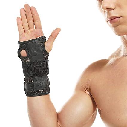 MANLI Muñequeras tunel carpiano deportivas ajustables Órtesis muñequera soporte férula ideal para alivio inmediato artritis,