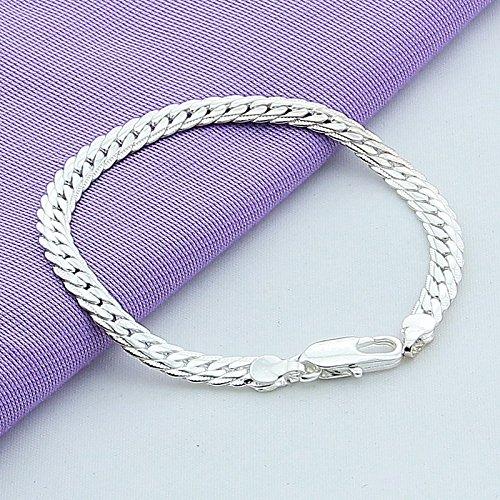 ATJC Fashion Sterling Twist linked Bracelet product image