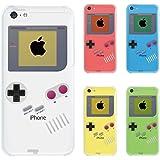 【iPhone5c】【iPhone5cケース】【iPhone5cカバー】【docomo】【au】【Soft Bank】【スマホケース】【クリアケース】【懐かしのゲーム機】 08-ip5cp-ca0075