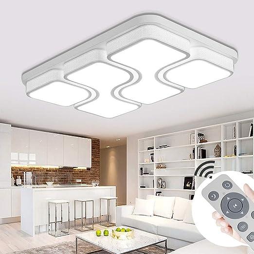 MYHOO 100W LED Deckenleuchte Dimmbar Deckenlampe Design Angenehmes ...