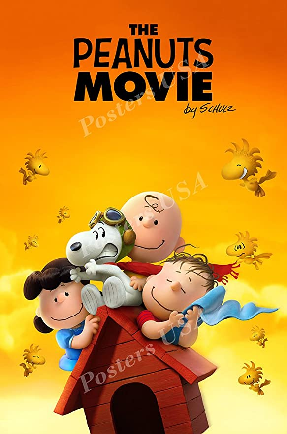 MOV595 The Peanuts Movie Poster Glossy Finish Posters USA