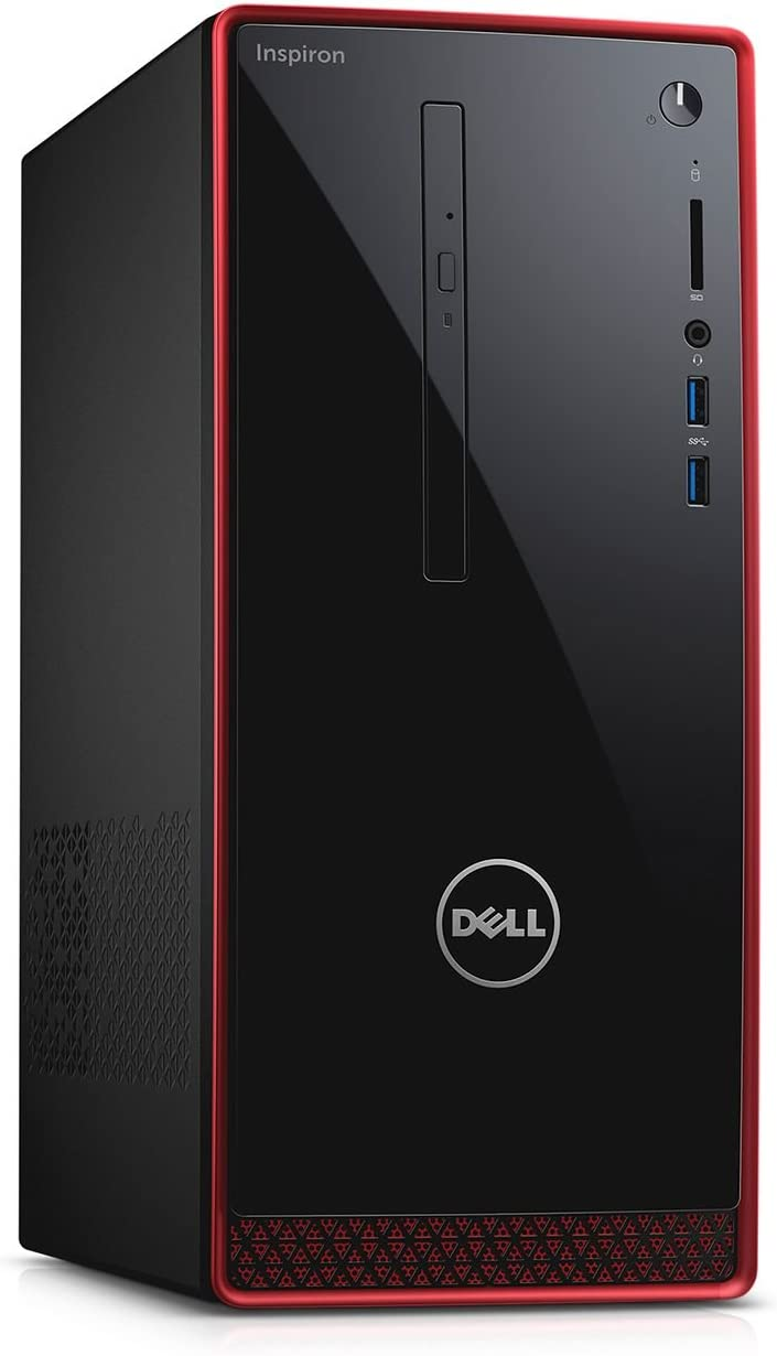 Dell Inspiron i3656 High Performance Desktop PC (2016 Newest), AMD A10-8700P Quad-core Processor, 8GB DDR3L Memory, 2TB Hard Drive, DVD±RW, Radeon R9 360 Graphics, WiFi, Bluetooth, HDMI, Windows 10