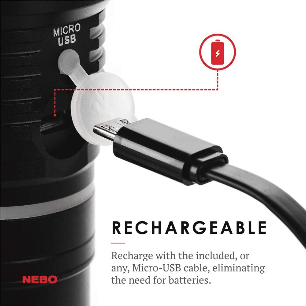 NEBO 6726 SLYDE KING Rechargeable Work Light and Flashlight GEN 2
