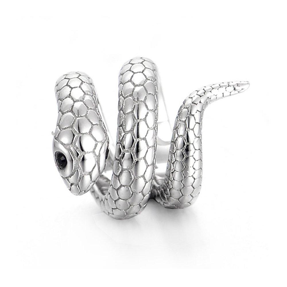 chamoon Charm ciondolo a forma di Snake Serpente in argento Sterling 92511014