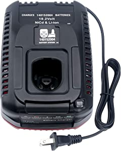Lithium-Ion & Ni-cad Battery Charger for Craftsman C3 19.2 Volt XCP 140152004 130279005 Battery