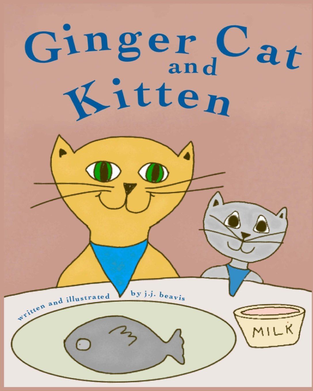 Ginger Cat and Kitten PDF