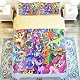 Smart My Little Pony 4 Piece Duvet Cover Sets Queen Size