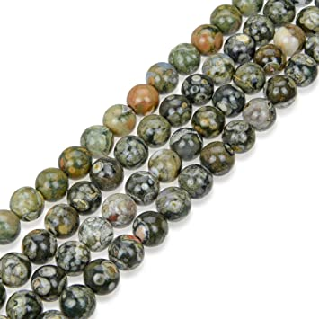 Natural Gemstone Beads Cat Pendant Necklace Agate Opal Jasper Malachite Quartz