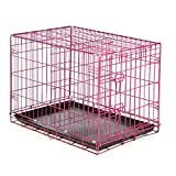 Easy Dual Latching Dog Crate, Large, Raspberry Review