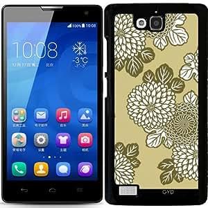 Funda para Huawei Honor 3C - Flores by wamdesign