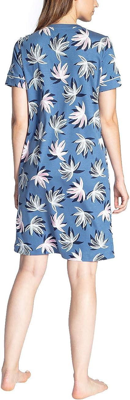 Calida Damen Cosy Flowers Nachthemd