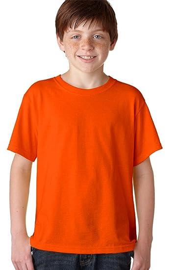 d1e2b257d Amazon.com: Jerzees Youth 5.6 oz., 50/50 Heavyweight Blend™ T-Shirt ...