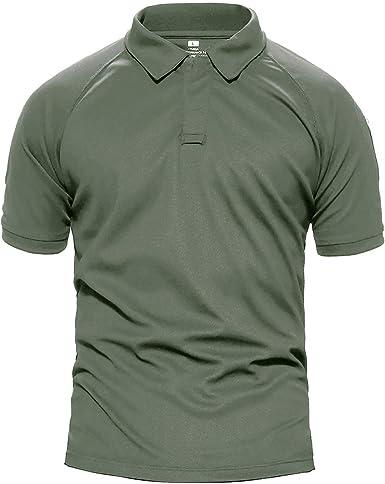 Camisa De Polo para Hombre Camisa De Unico Militar Camuflaje Táctico De Verano Polo Camisa De Polo De Manga Corta para Mujer Sola Moda Ocio Tops: Amazon.es: Ropa y accesorios