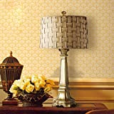 Gold Luxury Decoration American Table Lamp Living Room Bedroom Study European Desk Lamp
