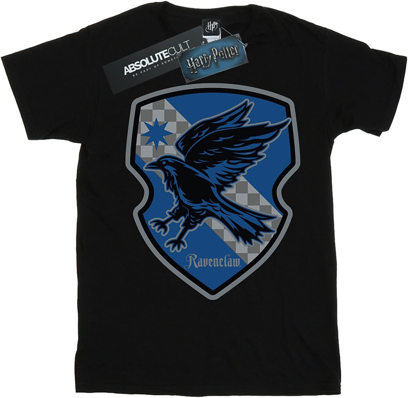 Harry Potter Girls Ravenclaw Crest Flat T-Shirt