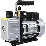 WEIMALL 真空ポンプ 排気速度 30L/S オイル逆流防止機能付 R134a R410a クーラー 真空引き 小型 エアコン修理
