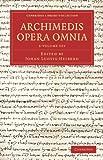 Archimedes Opera Omnia 3 Volume Set, Archimedes, 110806258X