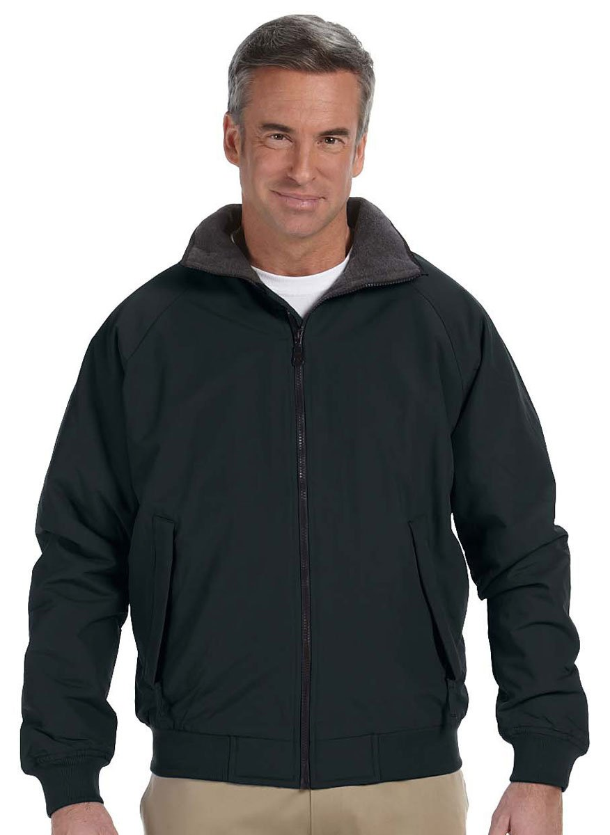 Devon & Jones Mens Three-Season Classic Jacket (D700) -BLACK -S