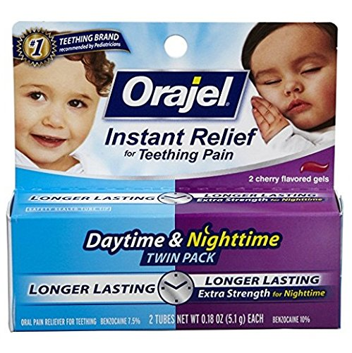 Orajel Oral Pain Reliever - Day/Night 2 - Pain Orajel Relief Instant