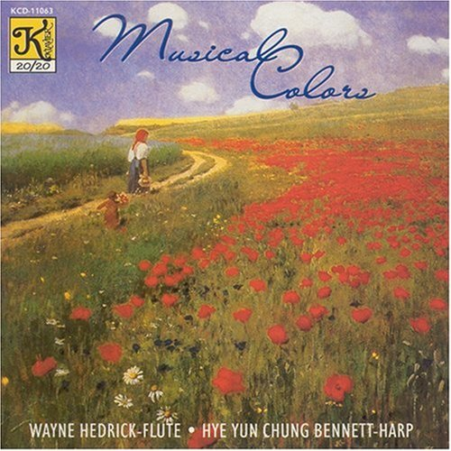 ks for Flute & Harp - Lauber: Four Medieval Dances Op. 45 / Marais: Le Basque / Micho Miyagi (arr Molnar): Haru no umi / Krumpholtz: Sontata for Flute and Harp, etc. ()