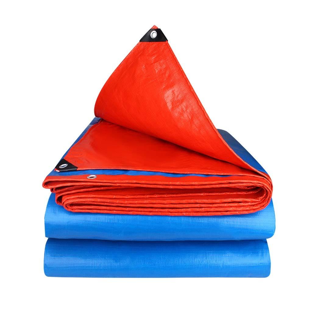 防水シート防水布雨防止布日除け布防塵布屋外両面防水トラック防水シートキャンプガーデニング (サイズ さいず : 5*5m) 5*5m  B07QHYHNGB