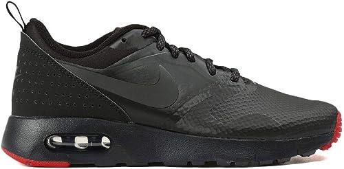 Nike Air Max Tavas PRM (GS) Sneaker Aktuelles Modell 2016 schwarzgraurot