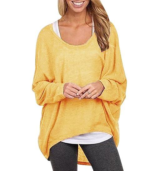 Jerseys de Punto Mujer Sueter Tejido Señora Suéter Mujeres Jersey Oversize Largo Sweaters Sueteres Tejidos para Dama Pullover Sweater para Damas Jerséis ...