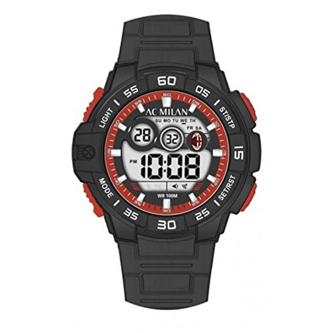 Reloj Milan Fútbol Oficial Digital p-mn450ur1–Reloj de pulsera hombre