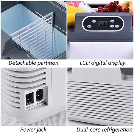 MRWW Refrigerador, Mini-Nevera-congelador eléctrico, vehículo ...