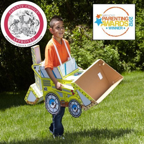 Treasure Chest Costume Ideas (Kid Constructions 1002-1 Wearables Dozer Kit)