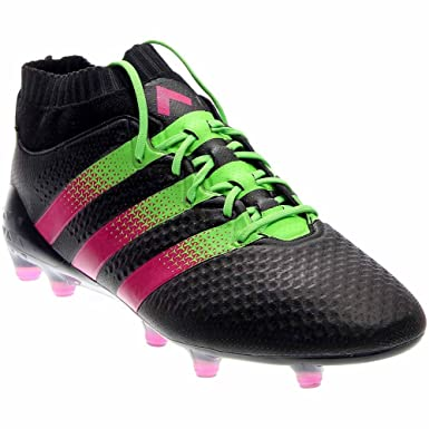 sale retailer 5693b e3b47 adidas ACE 16.1 PRIMEKNIT FGAG (BlackGreen) (6.5)
