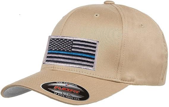 17269058681d2 Flexfit Mid-Profile Thin Blue Line Hat Cap at Amazon Men s Clothing store