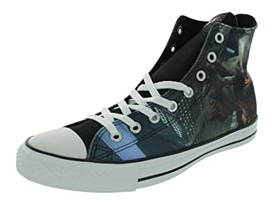 8f4a048c6b63 Image Unavailable. Image not available for. Color  Converse Men s CT Hi The  Dark Knight Rises Black Chili Casual Shoes ...
