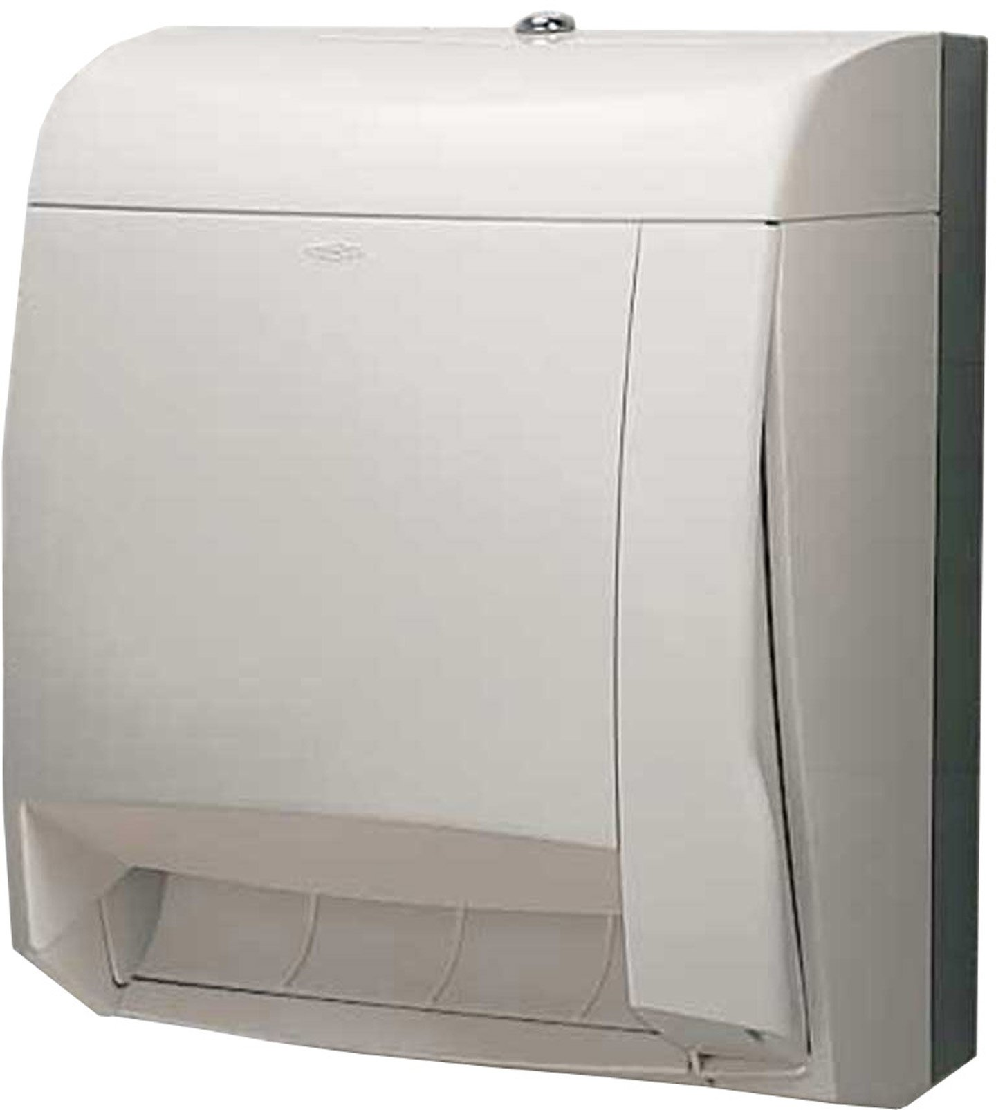 Bobrick 52860 MatrixSeries Plastic Surface Mounted Roll Paper Towel Dispenser, Gloss Finish, 11-5/8'' Width x 15-1/16'' Height