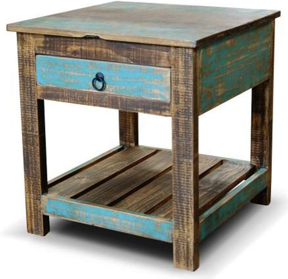 Rustic Reclaimed Wood Style Nightstand  End Table  Simple Nightstand  Rustic Nightstand  Farmhouse Table  Wood Nightstand