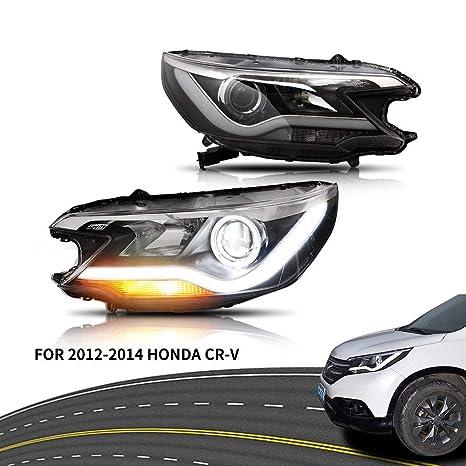 mostplus LED proyector DRL Faros delanteros y faros delanteros con Angel Eye para 2012 – 2014