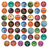quick cafe travel coffee maker - K Cups coffee pods variety pack, Premium sampler, Keurig single serve (48 Count)