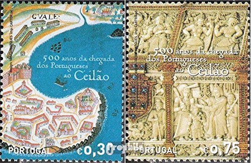 Portugal 3115-3116 (Complete.Issue.) 2006 Arrival The Portuguese on Ceylon (Stamps for Collectors)