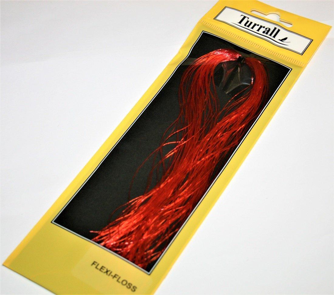 Turrall fly tying floss thread hot orange