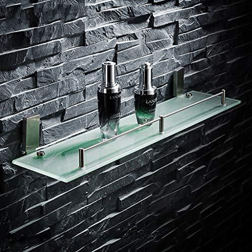 BAIF Bathroom Shelves Bathroom Shelf 304 Stainless Steel Drawing Glass Bathroom Bathroom Bathroom Toilet Toilet Toilet Toilet Storage Shelf Bathroom Racks