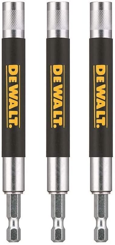 DEWALT DW2055B 6-Inch Magnetic Drive Guide, 3 Pack