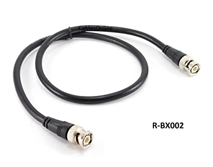 CablesOnline 2ft High-Quality RG8x Coax 50 OHM BNC Male/Male Antenna Cable (